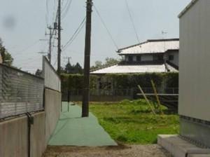 千葉県八街市太陽光発電施設(施工後)