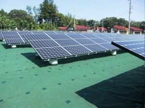埼玉県小鹿野町太陽光発電施設