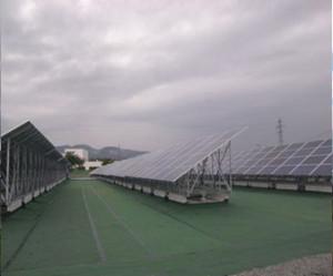 山形県山形市太陽光発電施設(施工後)