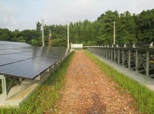 福井県あわら市太陽光発電施設(施工前)