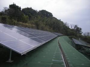 鹿児島県鹿児島市太陽光発電施設